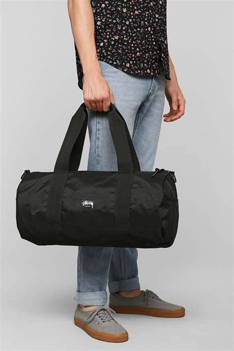 Stussy Duffle Bag stussy world tour small duffle bag in black for lyst