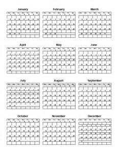 365 day calendar template 365 day calendat calendar template 2016