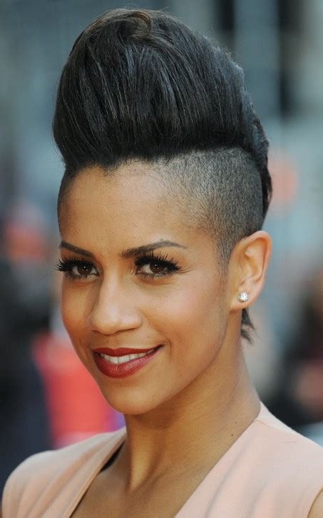 short pompadour hairstyles for black women 16 pompadour quiff hairstyles for women quiff