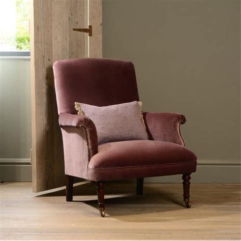 fauteuil anglais en tissu fauteuil anglais keswich en tissus de velours longfield 1880