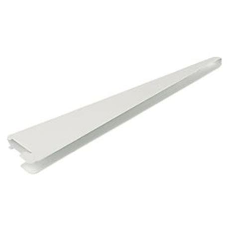 Floating Shelf Brackets Screwfix by Rb Uk U Brackets White 220 X 13mm 10 Pack Floating