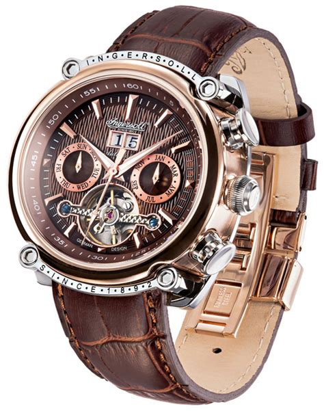 Ingersoll Las Vegas In6909rbr ingersoll in6909rbr watchon timeshop4you co uk