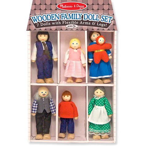 wooden designer doll set wooden family doll set building blocks