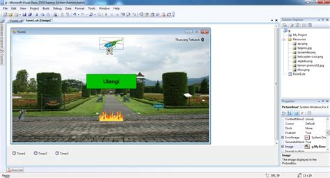 membuat game vb net membuat game menggunakan visual basic 2008 vb net