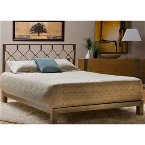 gold headboards beds honeycomb gold metal headboard and aura gold platform bed