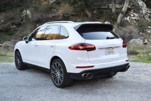 Porsche Cayenne S 2017 Porsche Cayenne S One Weekend Review Automobile