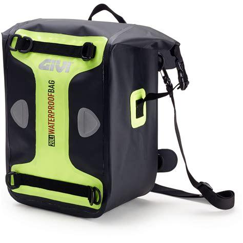 Mc Ag8 Bag Consina 20l givi wp406 waterproof 20l hi vis fluo motorcycle luggae tank seat shoulder bag ebay