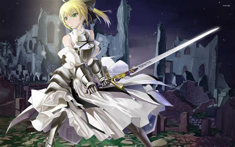 anime fate saber fate stay night wallpaper anime wallpapers 9608