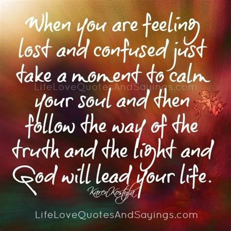 feeling lost quotes feeling lost quotes and sayings quotesgram