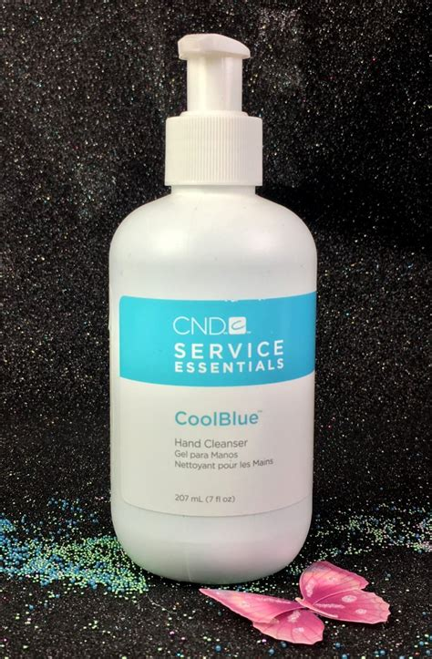 Americ Cool Gel Cleanser cnd service essential coolblue cleanser i gel nails
