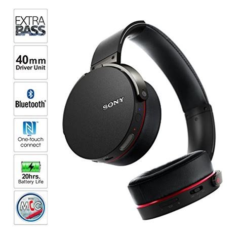 Headphone Sony Bass Diskon sony mdrxb950bt b bass bluetooth headphones black