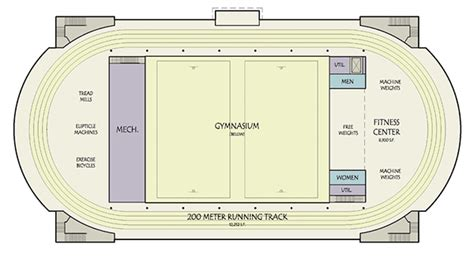 mile one centre floor plan sports fitness recreation center design study on behance