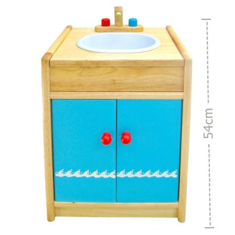 wooden kitchen sink with cupboard at my wooden toys