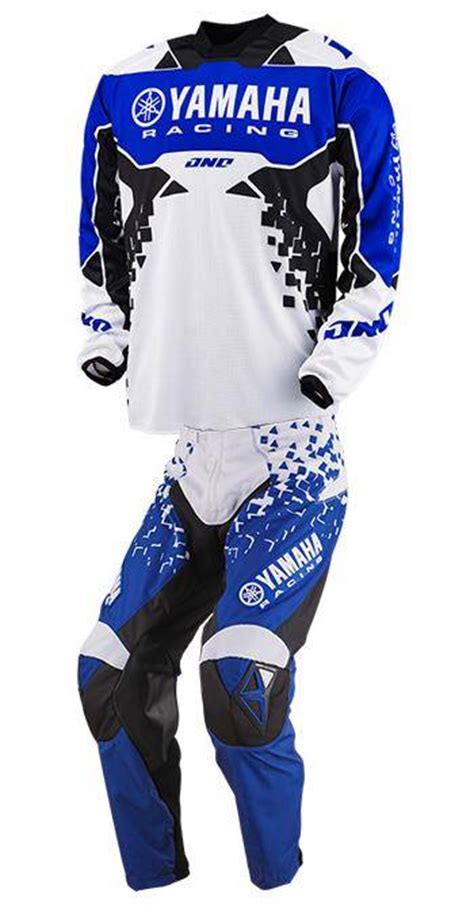 Jersey Set Trail Cros 2 one industries atom yamaha jersey combo set blue mx xc 51111 002 50111 002 ebay