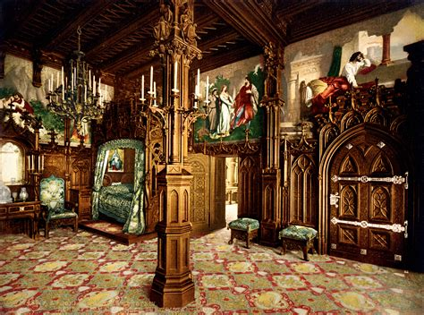 Castle Bedroom by File Neuschwanstein Bedroom 00183u Jpg