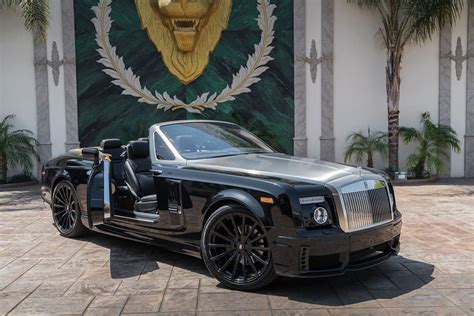 roll royce forgiato wald rolls royce phantom drophead coupe on forgiato wheels