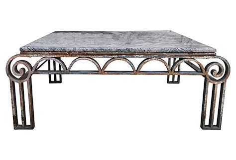 wrought iron table decor deco wrought iron coffee table levinson antiques