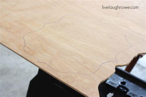diy chalkboard using plywood diy plywood chalkboard