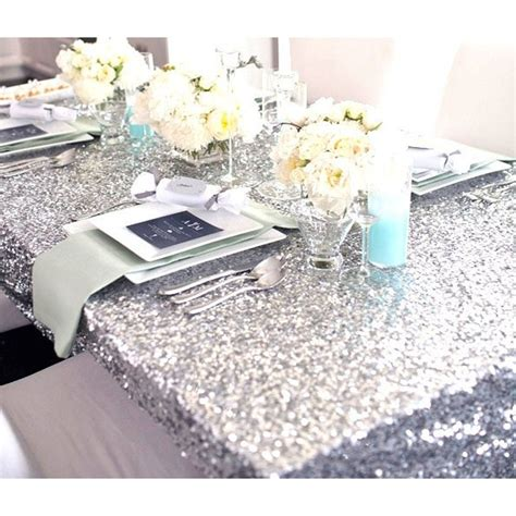 online get cheap silver christmas tablecloth aliexpress