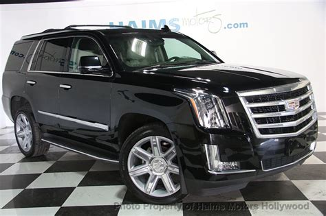 Cadillac Escalade 2015 Used by 2015 Used Cadillac Escalade 4wd 4dr Luxury At Haims Motors