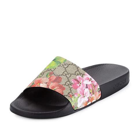 Sandal Gucci Fashion Murah designer pool slide sandals for summer 2017 spotted fashion