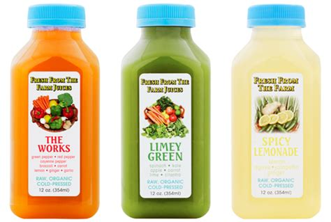 4 Day Detox Cleanse by 4 Day Cleanest Cleanse Fresh From The Farm Juices