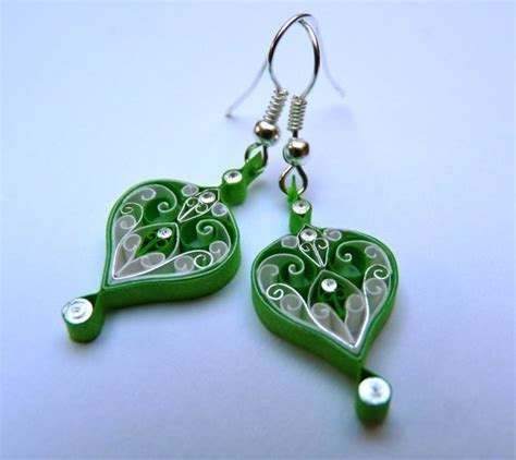 quilling tutorial earrings 91 best images about filigrana on pinterest earring