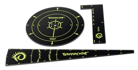 warmachine templates cryx template set privateer press
