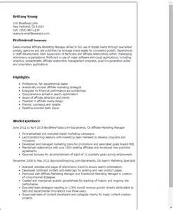 Image result for resume affiliate