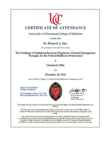 Of Cincinnati Mba Curriculum by Of Cincinnati Academic Health Center