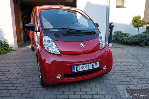 peugeot electric car i bought an electric car