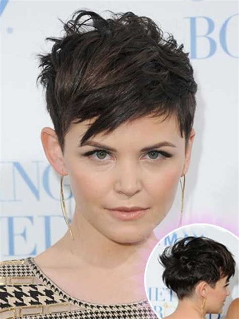 very short hairstyles on pinterest messy pixie corn row 147 best ginnifer goodwin images on pinterest