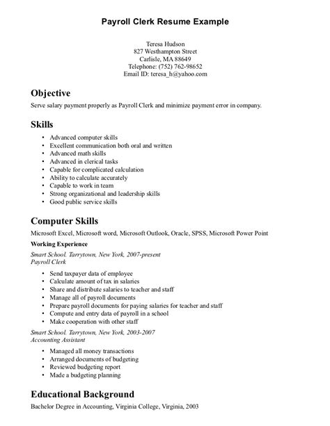 clerk resume sle sle clerk resume 28 images sales clerk resume sales