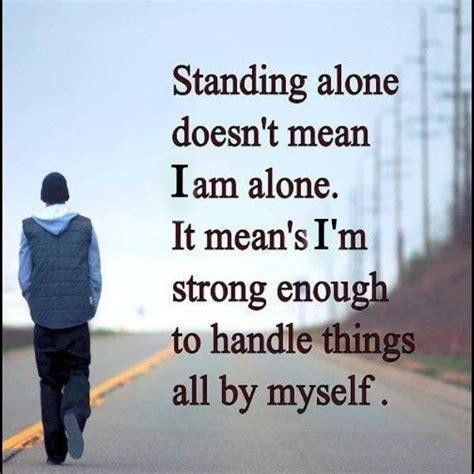 Alone Quotes 52 Alone Quotes Images And Sayings Morning Quote