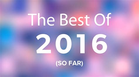 Best Search 2016 The Top Albums Of 2016 So Far Chorus Fm