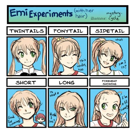 anime hairstyles personality favourite artworks reprise page 181 katawa shoujo