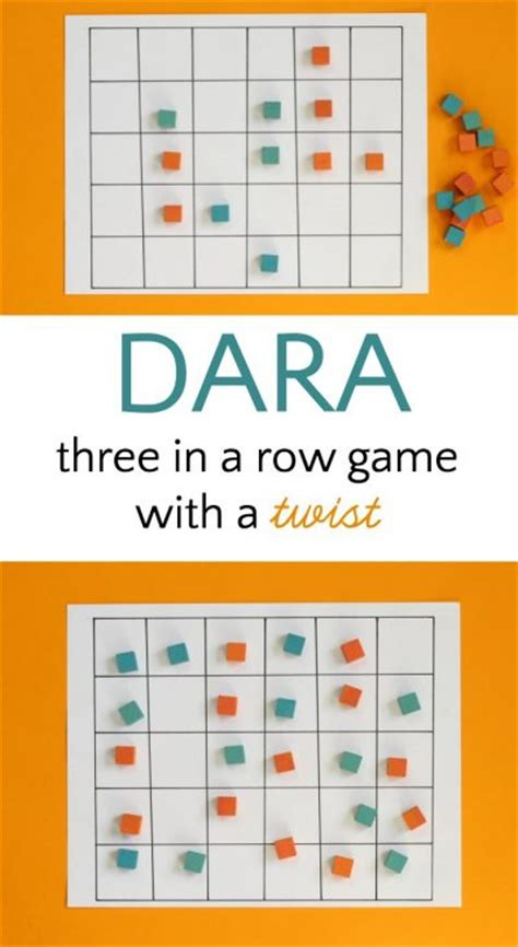 logic board games printable dara game nigerian 3 in a row with a twist