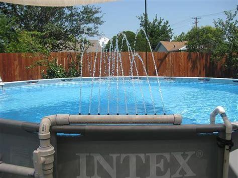 pool fountain ideas homemade pool fountain ideas