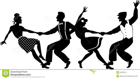 swing out lindy hop lindy hop stock vector image of west