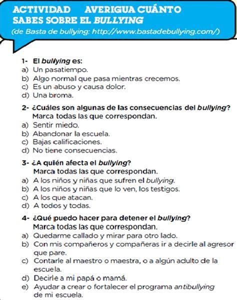 preguntas del htp evaluaci 243 n alto al bullying en gir 243 n