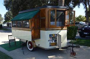 Homemade Camper Awning 1945 Homemade Popup From Vintage Camper Trailers Small