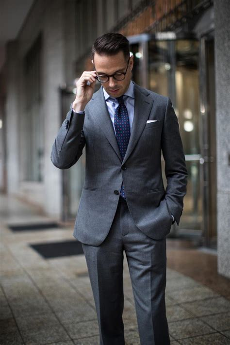 All Business The Charcoal Grey Suit He Spoke Style