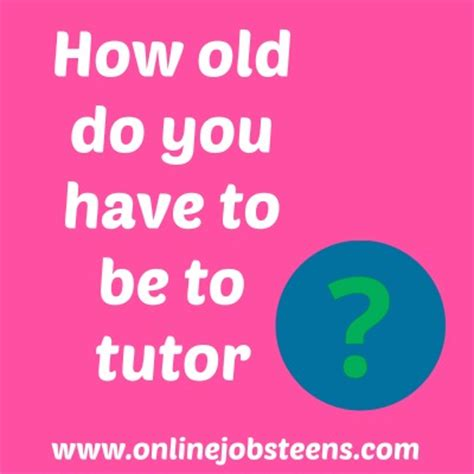 How Old Do You Have To Be To Win Pch - how old do you have to be to tutor online jobs for teens