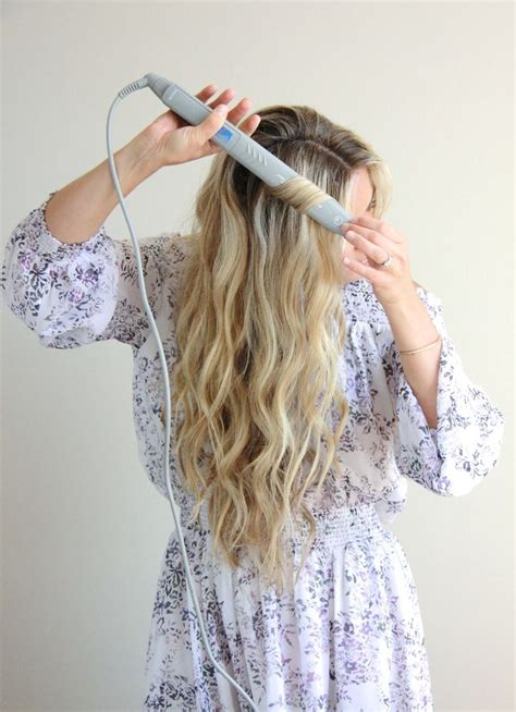 Curly Hairstyles For Hair With Flat Iron by Wavy Hair Tutorial With Flat Iron Flat Irons Wavy Hair