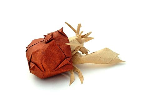 Hermit Crab Origami - 26 great origami models for when you re feeling a bit crabby