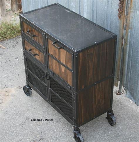 vintage industrial liquor cabinet cart bar cart modern