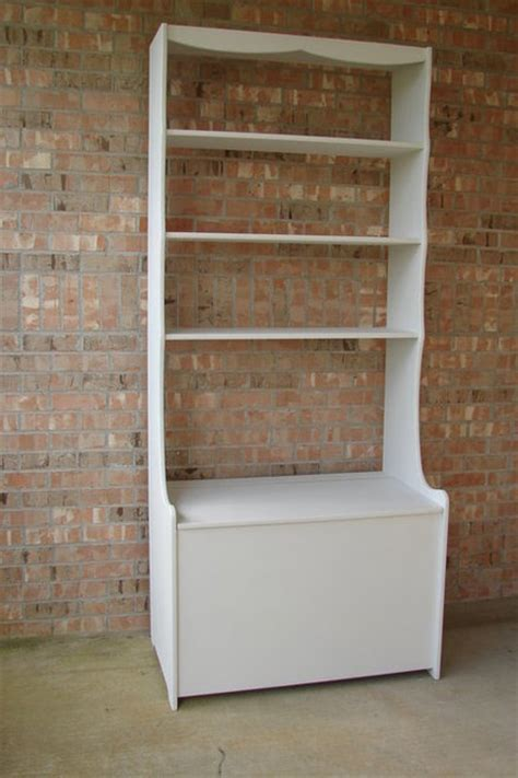 diy box bookshelf combo plans free