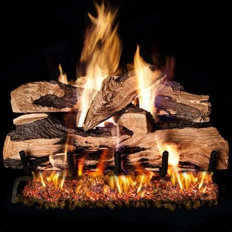 peterson real fyre 20 inch split oak designer plus gas log