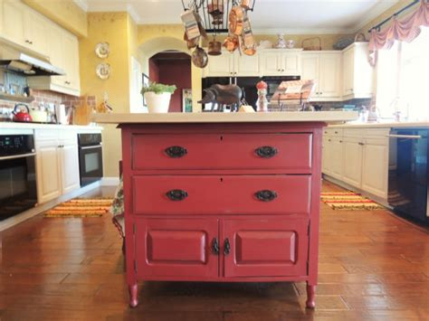 kitchen island vintage 15 funky kitchen islands that will make you jump on the repurposing trend