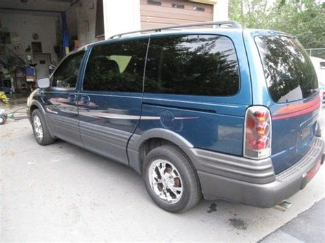 2003 Pontiac Montana Minivan Sell Used 2003 Pontiac Montana Base Mini Passenger 4